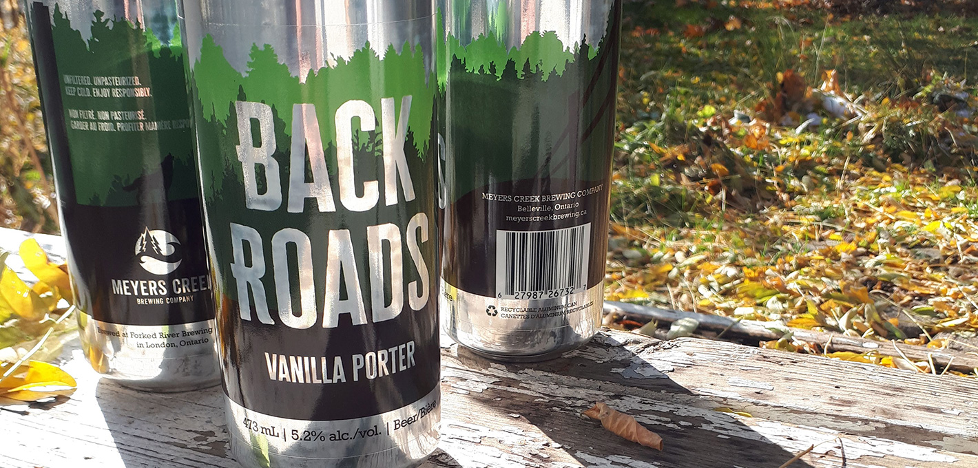 Back Roads Vanilla Porter