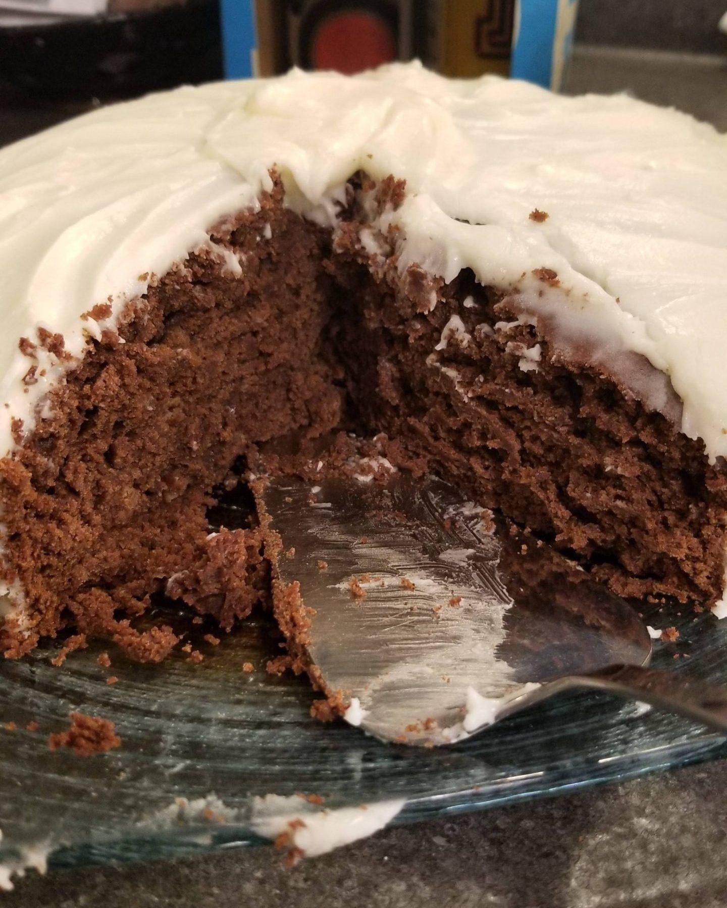 Vanilla Porter Crazy Cake