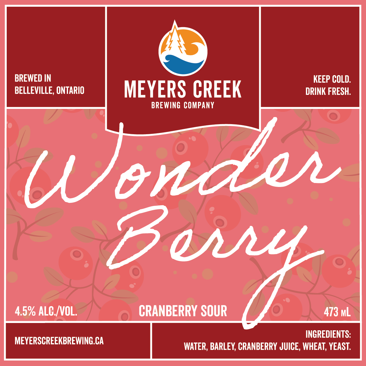 Wonder Berry - Cranberry Sour